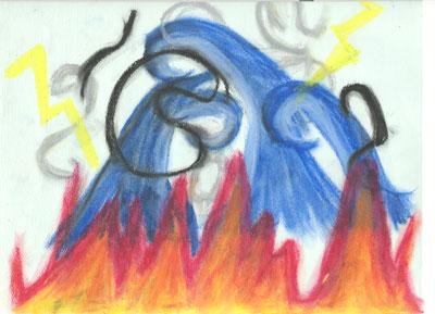 Fire, Waves, Lightning